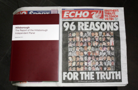 Award-winning Hillsborough campaign down to Liverpool Echo reporters 'not swallowing the line' says editor