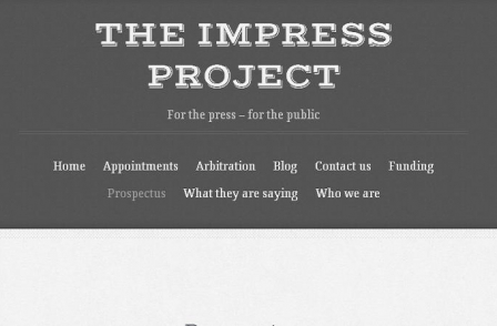 Impress appoints International Federation of Journalists general secretary as chair of appointments panel