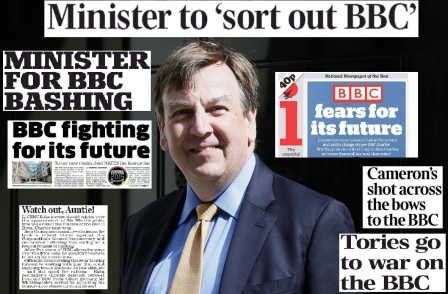 'Watch out, Auntie!' As Daily Mail welcomes new 'minister for BBC bashing', Guardian warns of 'vandalism'