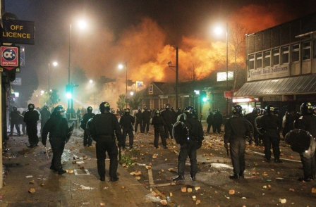 PA exhibition: London Riots Revisited