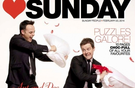 Sunday People launches new 64-page glossy supplement featuring celebrities, crime and fashion