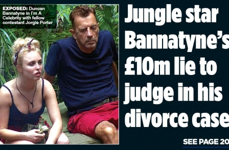 Mail on Sunday in six-week legal battle to expose Duncan Bannatyne divorce papers