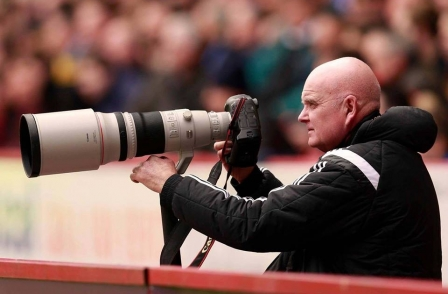 'Top snapper and top bloke' football photographer Martyn Harrison has died