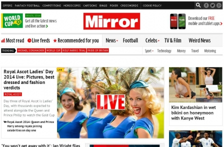 Daily Mail Plus editor Pete Picton joins Mirror Online as editorial director