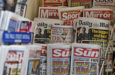 National newspaper ABCs, November 2015: Stars rise after price cuts, Times titles benefit from bulks
