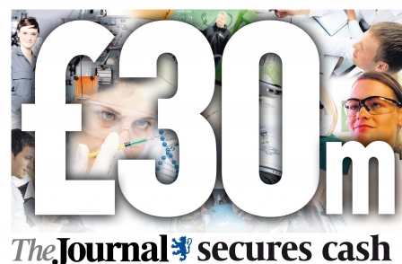 Newcastle Journal helps secure £30m for North East businesses