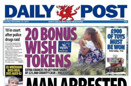 North Wales daily editor given additional responsibility for four weeklies as position is axed by Trinity Mirror