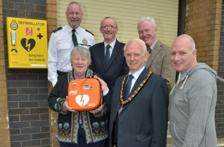 Oswestry newspaper campaign raises £6,000 to get town five defibrillators