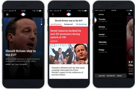 Trinity Mirror launches free news aggregation app Perspecs linking through to other publishers