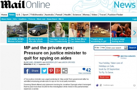 Mail Online reports four more Google 'right to be forgotten' removals - stories on Josef Fritzl, Tory MP and Prince William schoolfriend affected