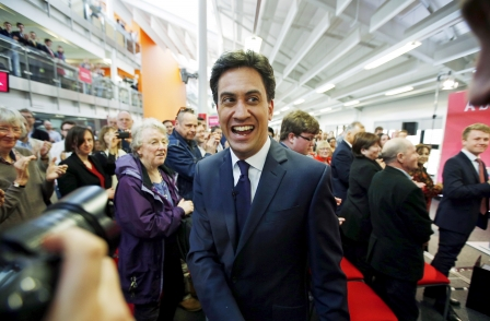 As national press leans strongly in favour of Conservatives, Labour opens slender poll lead