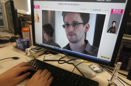Guardian whistleblower Ed Snowden nominated for £42k EU prize