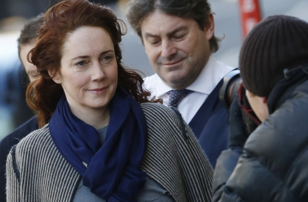 Rebekah Brooks paid £1,000,000 for David Beckham's autobiography, court told