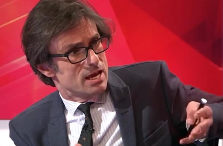 Robert Peston: 'I was  the only person in Britain saved by the economic crash'