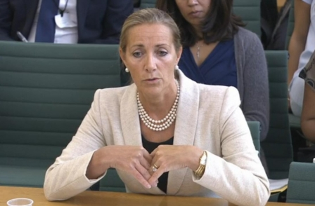 Preferred BBC Trust chair candidate Rona Fairhead defends licence fee during CMS committee appearance