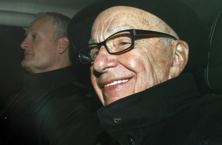 Guardian: Met Police want to question Rupert Murdoch 'under caution'