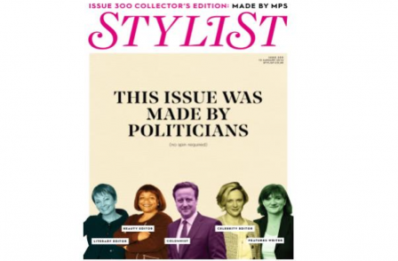 Stylist 300th edition written by MPs including: Cameron, Osborne and Corbyn