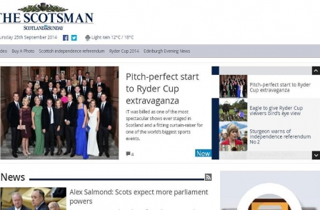 Referendum day saw Scotsman website attract 1m page views - beating previous record by 50 per cent