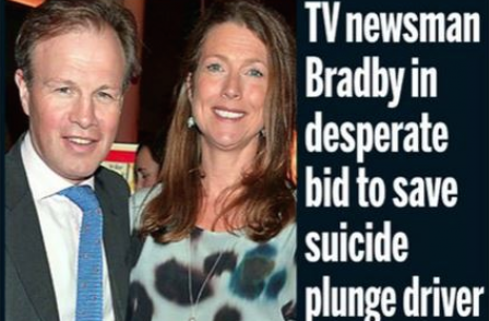 ITN's Tom Bradby makes front pages on his hols after bid to save drowning man