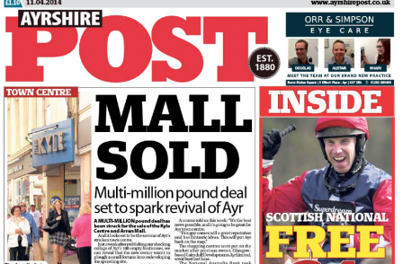Ayrshire Post censured by IPSO over report of hospital inspection which focused on the negative