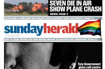 Sunday Herald is only weekly title audited by ABC to grow print sale in first half of 2015