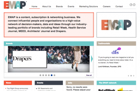 Emap name to be 'retired' as Health Service Journal, Drapers and other titles phase out print