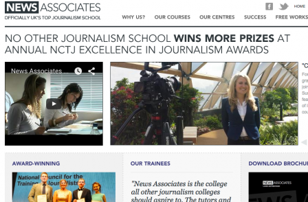 News Associates London wins prize for best course at NCTJ awards