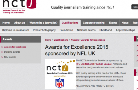 Student and trainee journalists recognised at NCTJ excellence awards: Full list of winners
