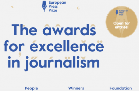 €10,000 European Press Prize closes for entries on 18 December