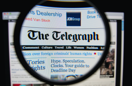 'They crossed a line': Telegraph fined £30,000 by info chief over email calling on subscribers to vote Tory