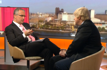 Eddie Mair on interviewing Boris: 'We achieved what we wanted out of it'
