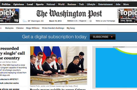 Washington Post to offer free digital access to other papers' subscribers