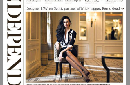 Editors were right to use Jagger grief pic, but there was much else wrong with L'Wren Scott death coverage