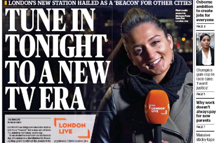 London Live chief exec hits back over 'aggressively negative' coverage as Hatfield departs