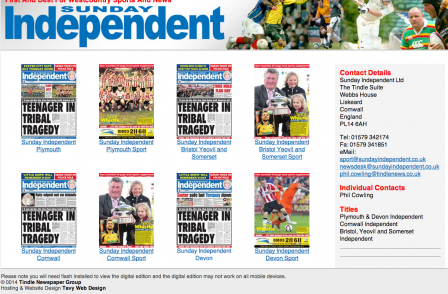 Tindle MD Brian Doel retires and takes majority stake in Sunday Independent