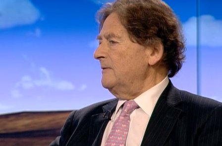 Lord Lawson says 'Stalinist' BBC has banned him from returning to talk about climate change
