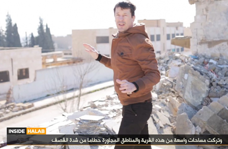 British journalist John Cantlie appears in 'last' IS hostage video