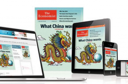 Economist leads the way amid booming UK magazine digital edition sales