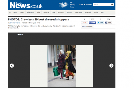 Pics of readers out shopping and 'what time is EastEnders on'...Local World websites plumb new depths