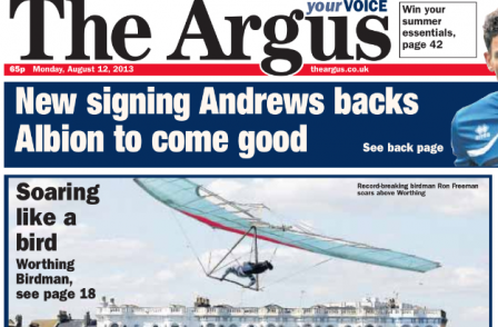 Four more editorial jobs at risk on the Brighton Argus