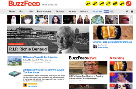 'I blew it', says Buzzfeed editor over decision to pull negative comment pieces about advertisers