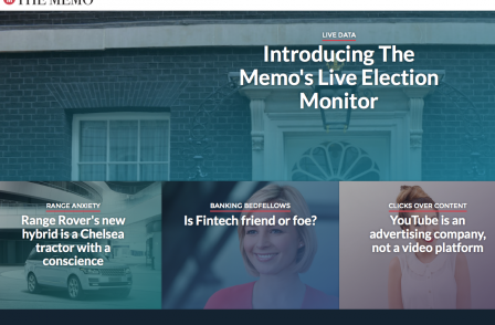 UK tech website pitched between Economist and Wired launches with five journalists