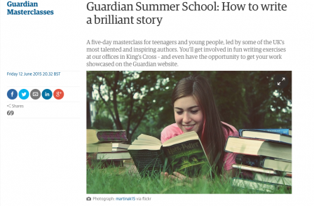 News UK and Guardian both hold summer schools for sixth formers (one is free, the other costs £599)