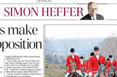 There and back again, by Simon Heffer: Columnist switches from Mail to Telegraph...again