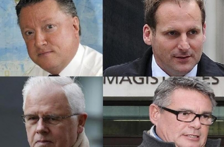 Old Bailey jury retires to consider verdicts on Sun's John Kay, Geoffrey Webster, Duncan Larcombe and Fergus Shanahan
