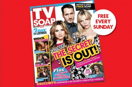 The Sun on Sunday launches new 32-page TV magazine, TV Soap