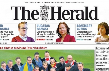 'Rapid growth' online fails to offset print decline as Scottish Herald and Times group reports fall in profits