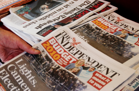 Author lodges libel action against The Independent over its report of...a libel action