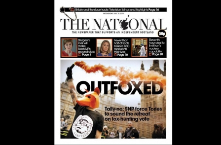 Glasgow-based Herald group reports sales boost in print and online after launch of The National