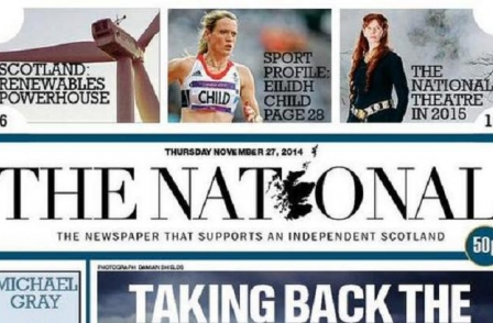 'It may have been crazy but it has worked': Pro-independence daily newspaper for Scotland to continue
